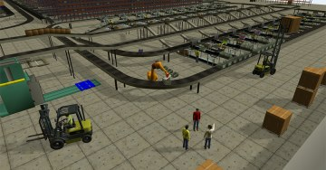 zdjęcie 3D Simulation Software for optimization of processes